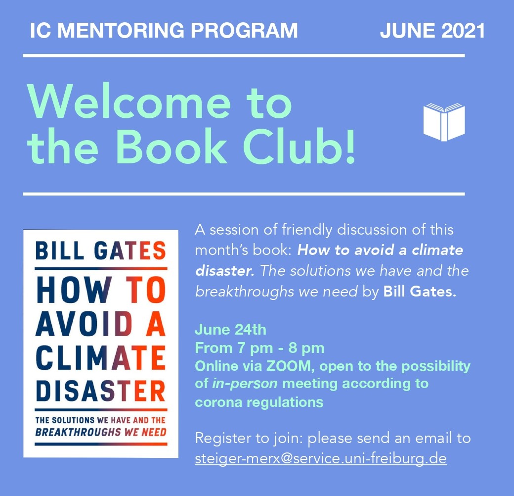 ICM book club June