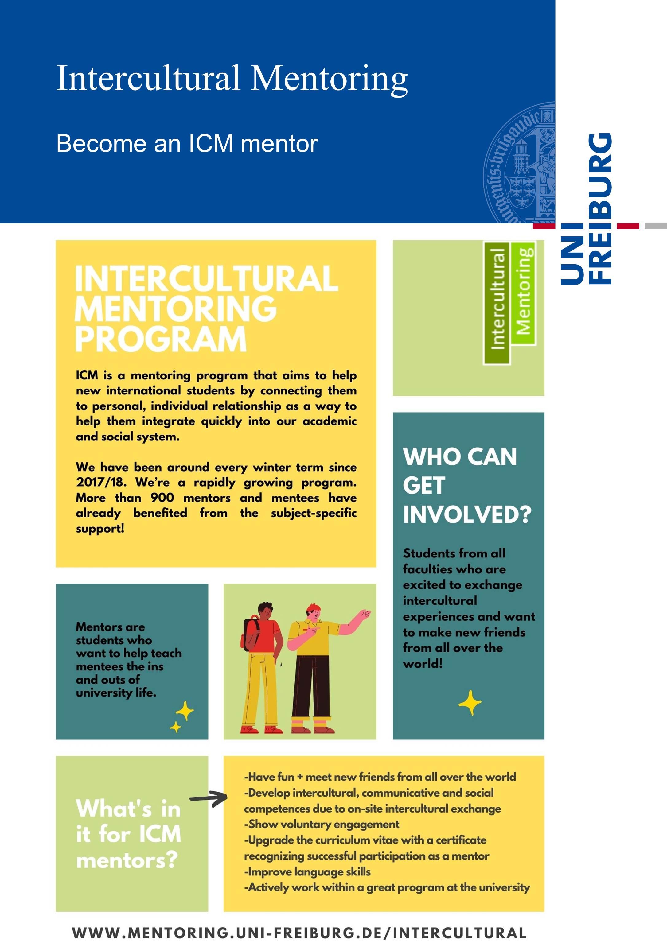 ICM mentor flyer Seite 1