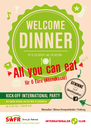 Welcome Dinner - All You Can Eat für 6 €